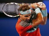 RANAŘ. Rafael Nadal v semifinále Australian Open.