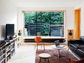 Největší radost mají majitelé z nové obytné místnosti s integrovanou kuchyní a
