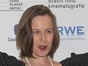 Z hlavní dámské herecké role se radovala Petra Špalková