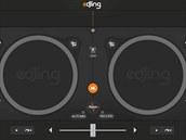 Aplikace edjing – DJ mixer console studio promění váš tablet vmixážní pult
