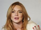 Lindsay Lohanová (20. ledna 2014)