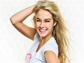 Finalistka sout�e �esk� Miss 2014 Simona Dvo��kov� z Prahy