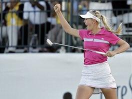 Jessica Kordov� j�s�. Vyhr�la turnaj americk�ho okruhu LPGA na Baham�ch.