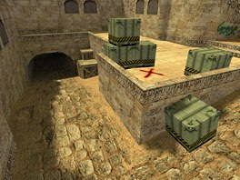 Klasická verze mapy de_dust 2 pro Counter-Strike
