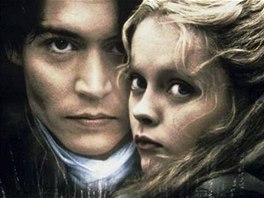 Z filmu Ospalá díra (Johnny Depp a Christina Ricci)