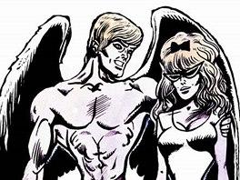 Z komiksu Muriel a andělé