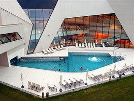 Moderní lázeňský resort Warmbad u Villachu