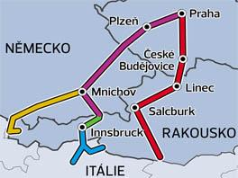 Nejčastější cesty do Alp