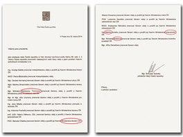 Chyby v návrhu nominací na členy kabinetu premiéra Bohuslava Sobotky