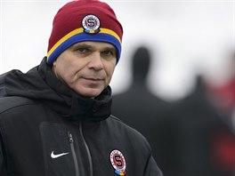 Sparťanský trenér Vítězslav Lavička během zimní příprava.