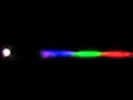 Jeden ze záběrů kulového blesku a jeho spektra z sekvence snímků vědců z...