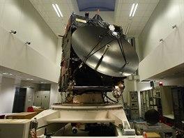 Kopie sondy Rosetta ve st�edisku ESOC v n�meck�m Darmstadtu