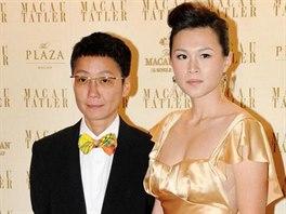Gigi Chaová s manželkou