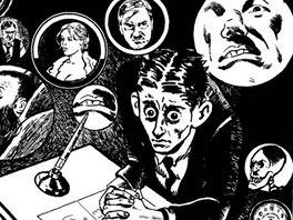 z komiksu Franz Kafka: Proces