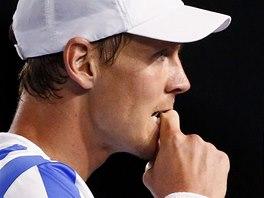 JAK NA NĚJ? Tomáš Berdych v semifinále Australia Open.