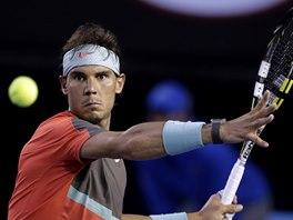 ODHODL�N�. Rafael Nadal ve fin�le Australian Open.