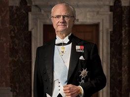 Švédský král Carl XVI. Gustaf
