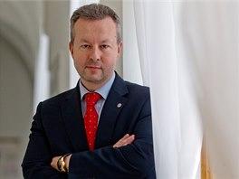 Budoucí ministr životního prostředí Richard Brabec (24. 1. 2014)