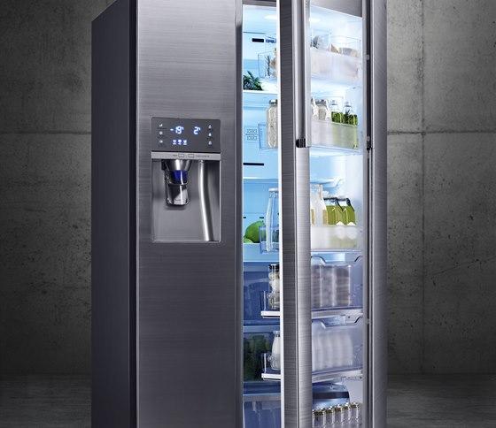 Chladnička Food Showcase díky svému inovativnímu designu chytře dělí potraviny