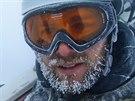 Závěrečný skicross extrémního armádního závodu Winter Survival v Jeseníkách