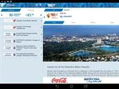 Novinky ze zimní olympiády vruském Soči vám zprostředkuje aplikace Sochi 2014...