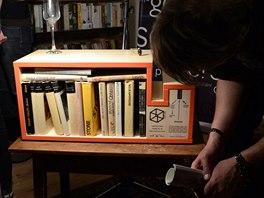 Studenti p�edstavili na ve�ern� akci projekt Kup book!, kter� v p�tek startuje....