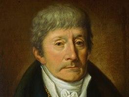 Antonio Salieri na dobovém portrétu Josepha Willibroda Mählera
