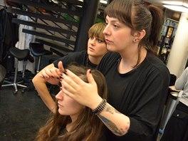 Úvodní konzultace nad čtenářkou Michaelou se zúčastnila také Nina Krajčo, jedna...
