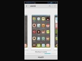 Displej smartphonu Huawei Ascend G700
