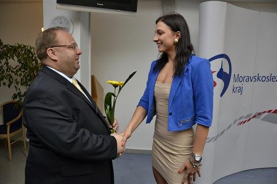 Sportovcům v Moravskoslezském kraji se na mezinárodních sportovištích daří, což...