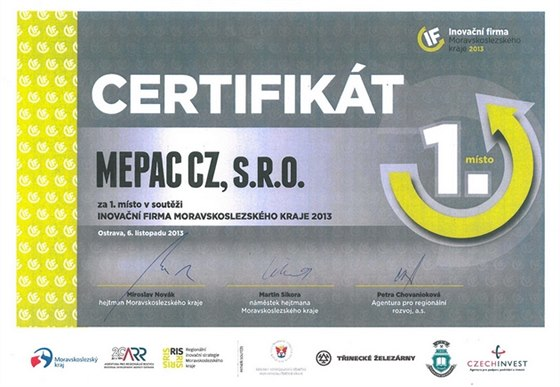 Firma MEPAC p�edstavuje technologick� unik�t, mobiln� laserov� grav�rovac�...