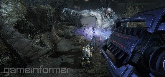 Obrázek ze střílečky Evolve, který exkluzivně zveřejnil server GameInformer.