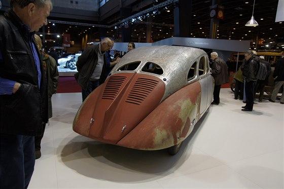 Škoda 935 je hvězdou stánku muzea značky na renomované výstavě Rétromobile v...