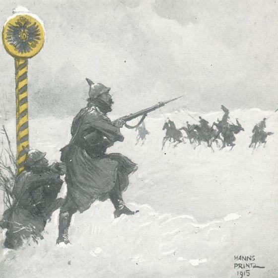 Obr 03 - Rakouští četníci za války.
