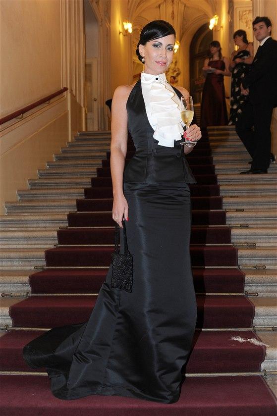 Ples v Opeře 2014: Gábina Partyšová