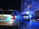 V tomto domě na pražském Zličíně policisté zasahovali u sousedského sporu