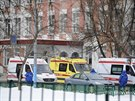 Po několika desítkách minut policie útočníka zneškodnila (3. února)