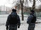 Ostraha posléze přivolala policii (3. února)
