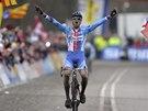 Cyklokrosař Zdeněk Štybar ovládl na mistrovství světa v nizozemském Hoogerheide