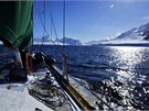 Antarktick� idyla. Ale drsn�