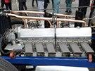 Při startovacím pokusu v roce 1993 byl motor těžce poškozen, utržená ojnice...