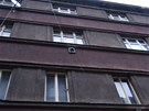 Policie vyk�zala squatery z domu v Neklanov� ulici na pra�sk�m Vy�ehrad� (7.