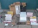 Kontraband deseti tisíc cigaret skrývala havířovská garáž.