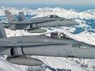 �v�carsk� letoun F/A-18 Hornet