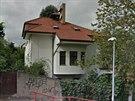 Takto zbouranou vilu v ulici Pod Vyhlídkou zachytila ve svých mapách společnost...