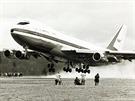 První vzlet B747 očima fotografů.