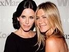 Courteney Coxová a Jennifer Anistonová jsou nerozlučné.