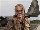 Mia Farrowová se zatím k případu nevyjadřuje, věnuje se kampani na záchanu...
