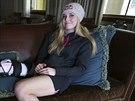 Zranění kolene zabránilo Vonnové jet na olympiádu.