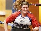 Rachel Fredricksonová dřela s trenérem a k tomu jedla prý pětkrát denně.